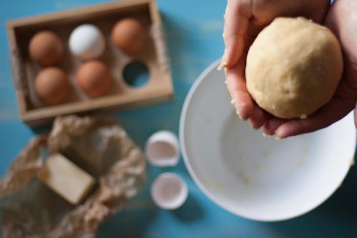Песочное тесто: вымешивание