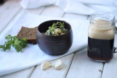 Три летних супа: окрошка на квасе