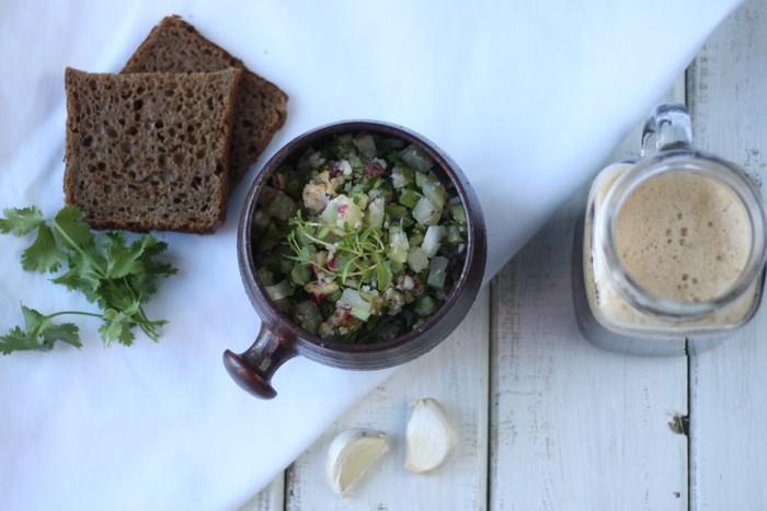 3 летних супа: окрошка на квасе