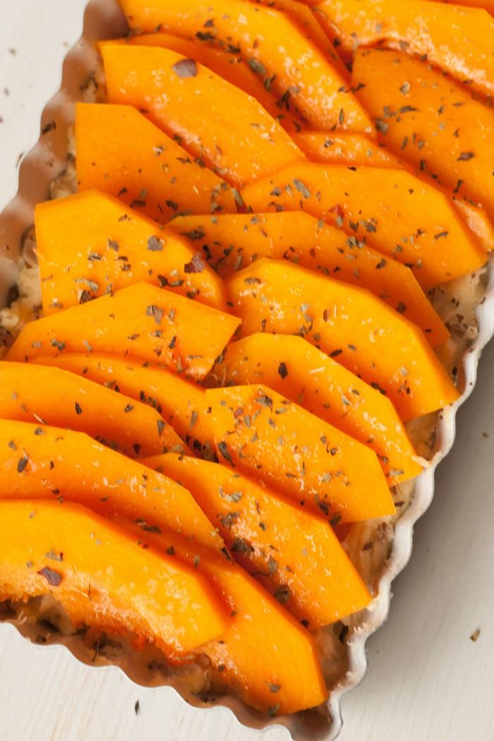 Пряный тыквенный пирог - процесс