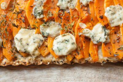 Пряный тыквенный пирог - простой рецепт