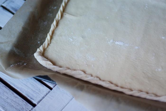 Пирог с морковью: слоеное тесто
