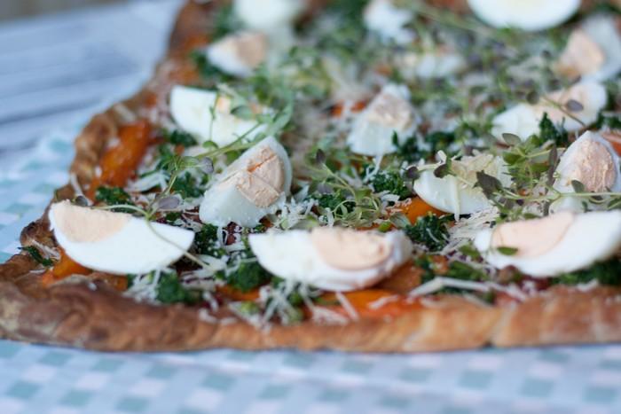 Пирог с морковью: красиво и просто
