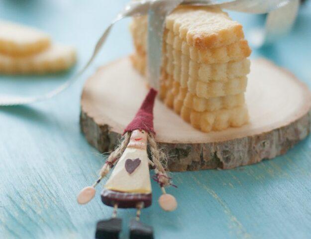 Песочное печенье: красивый подарок
