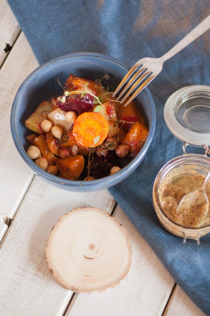 Теплый салат - полезно и вкусно