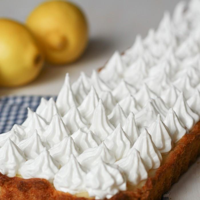 Лимонный курд: тарт