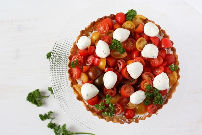 Пирог с томатами: простой рецепт