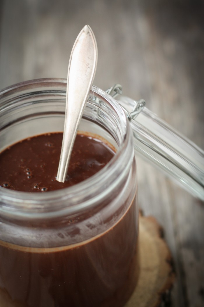 Горячий шоколад: ганаш
