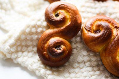 Шафрановые булочки: шведские традиции