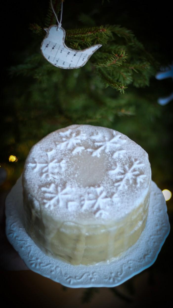 Снежный торт: самый вкусный