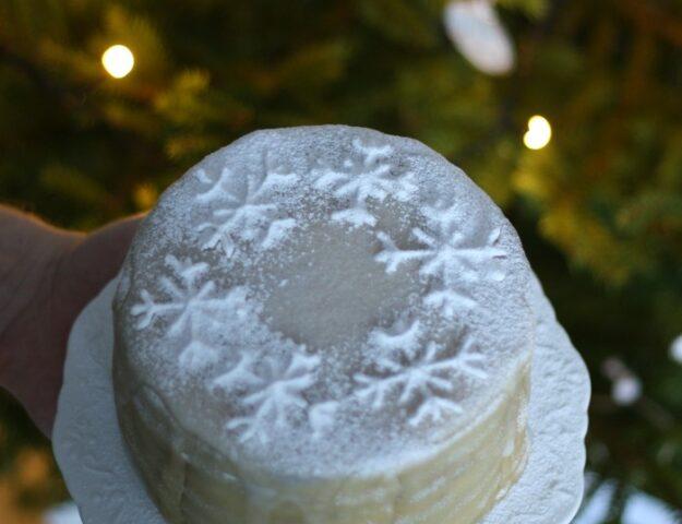 Снежный торт: идеальный десерт