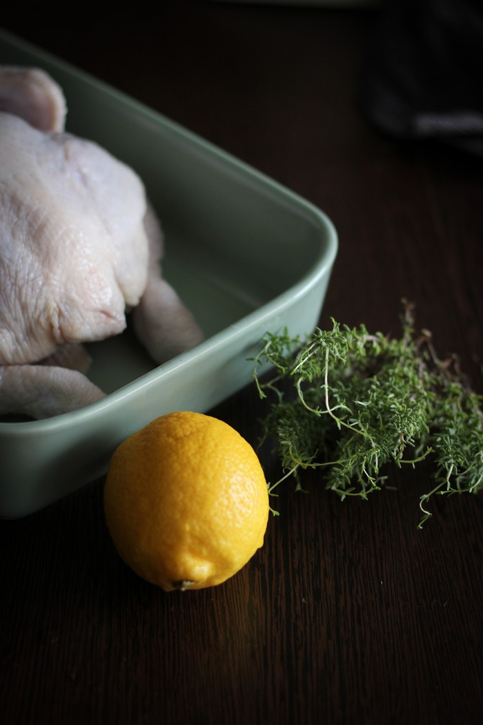 Лимон и тимьян