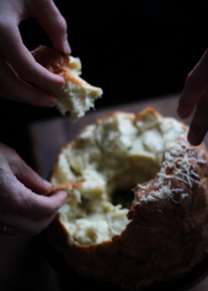 Обезьяний хлеб - едим все вместе