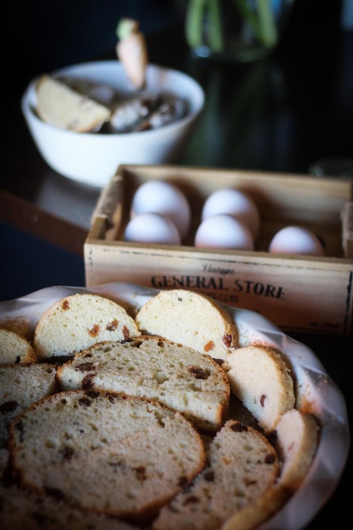 Пирог из кулича - берем 5 яиц