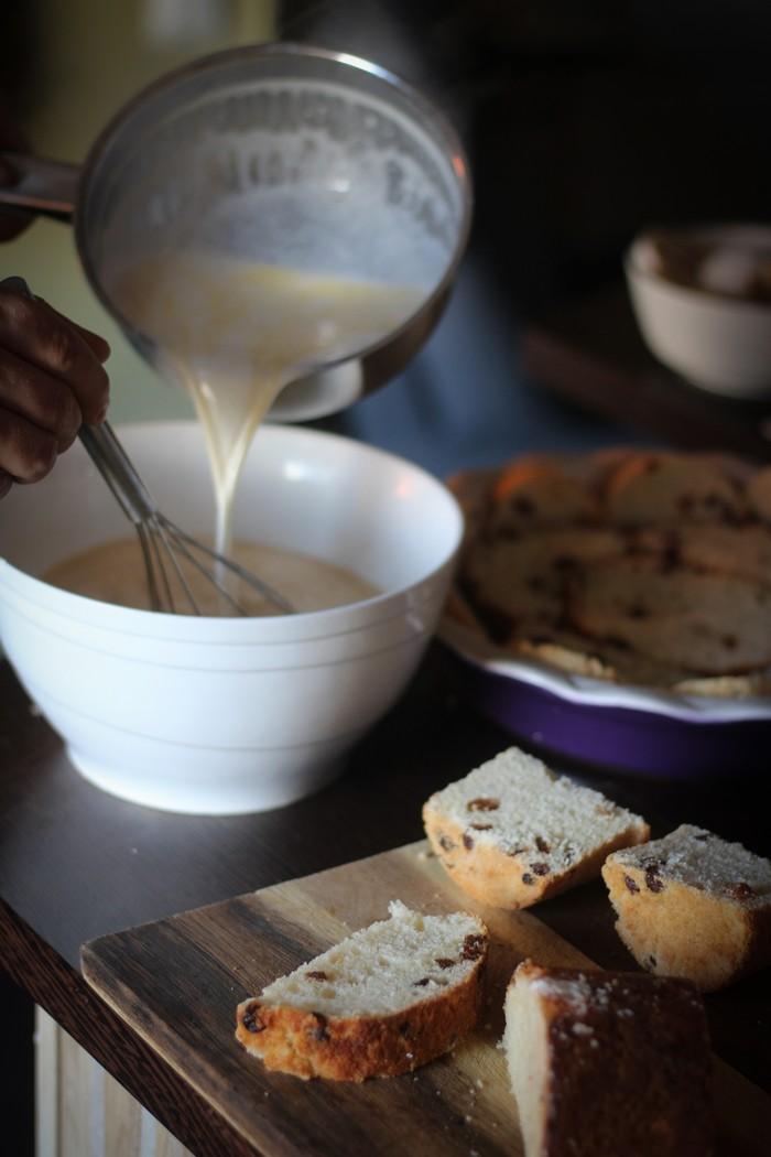 Пирог из кулича - готовим начинку