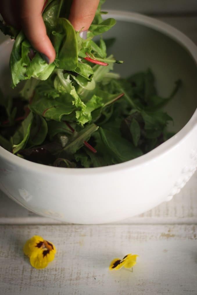 Летний салат: готовим основу