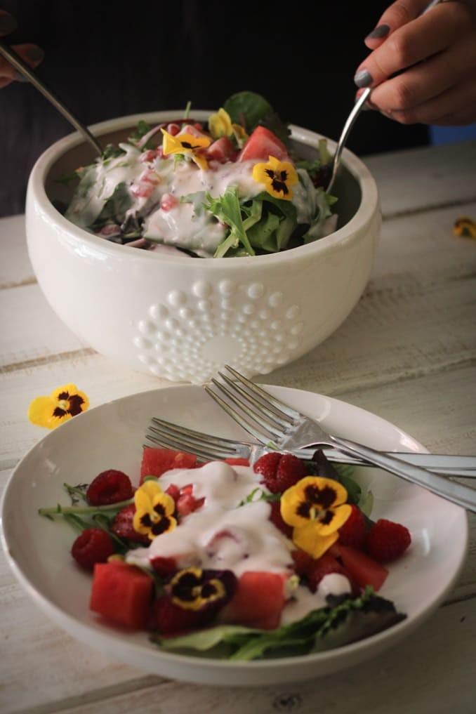 Летний салат
