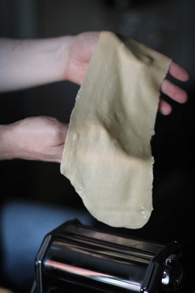 Лазанья: тонкий лист пасты