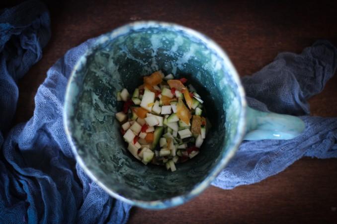 Суп из цукини: альтернативная сервировка