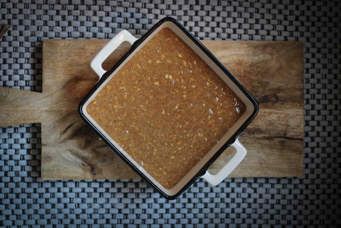 Пирог со сливами: основа